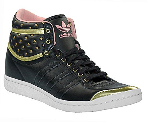 new style 04e72 79c11 Adidas Top Ten Hi up chaussures sleek w pas cher prix promo Baskets Femme  Amazon 94.90