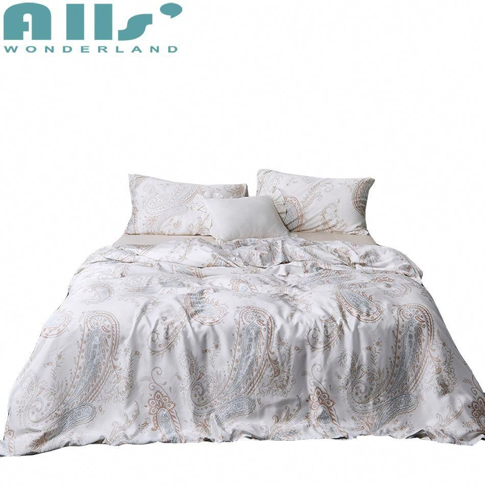 Cool Bedding Set Queen 4 Pcs Luxury Bed Set Modern Bed Sheet Set