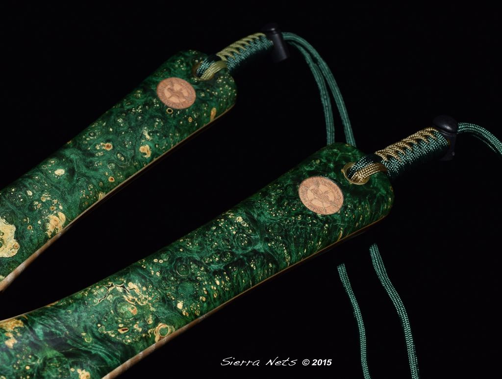 8ab2503ee76c8 A Pair of custom Sierra Nets created especially for the Green Beret  Foundation. Fly Fishing