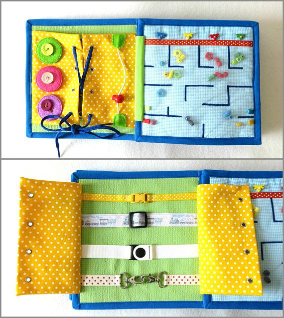 Quiet Book Personalized Felt Book Activity Busy Book 21x21 cm 4-10 Pages Toddler Montessori Learning Felt Book Educational Child Toy Boy