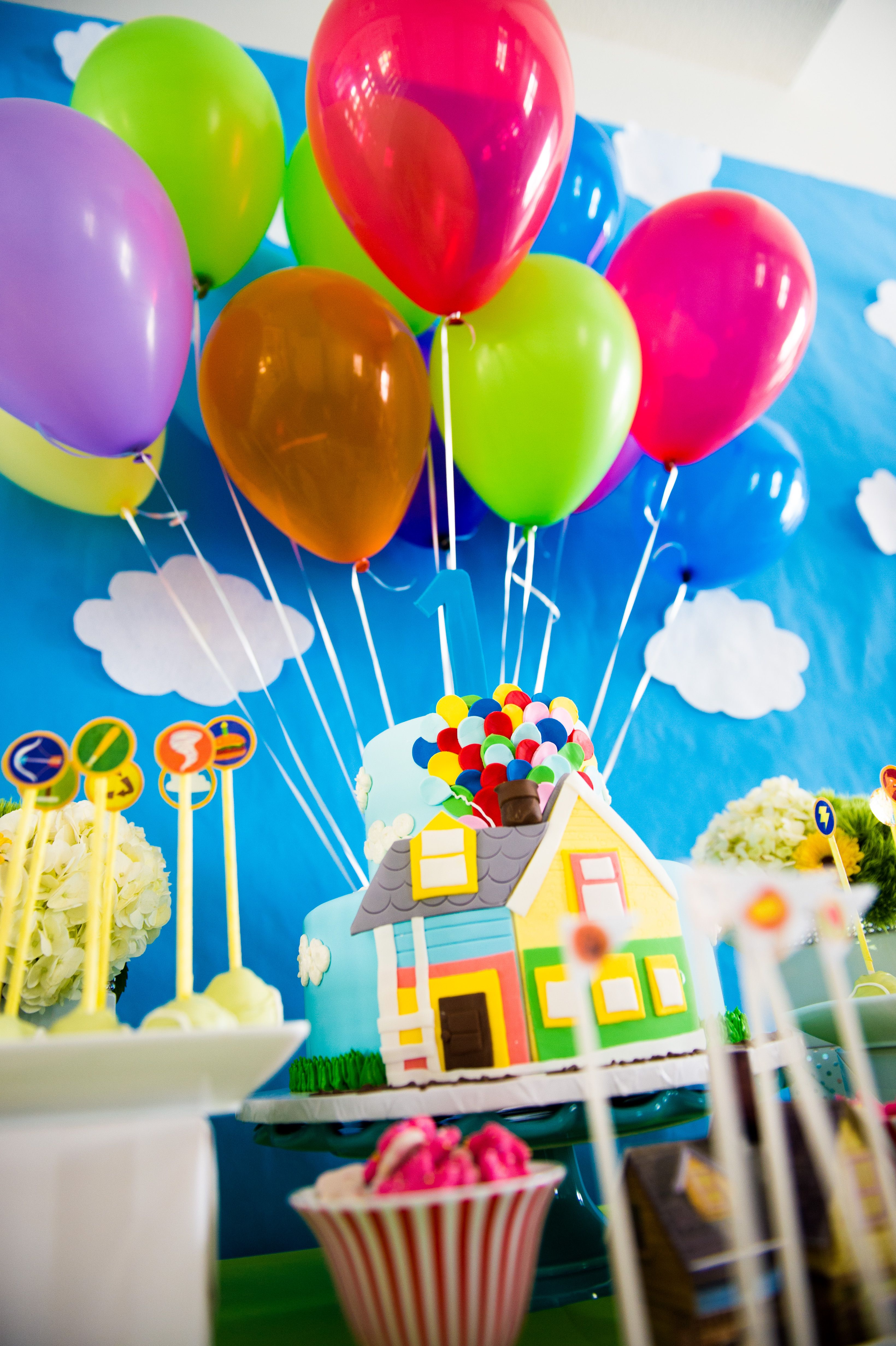 Disney's Up Party Theme | Party Planning | 1st birthday ...