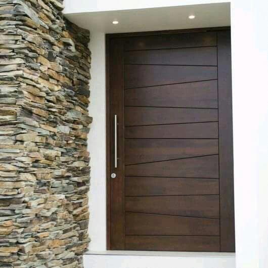 Front Doors   Contemporary Exterior Doors   Wooden Front Doo…