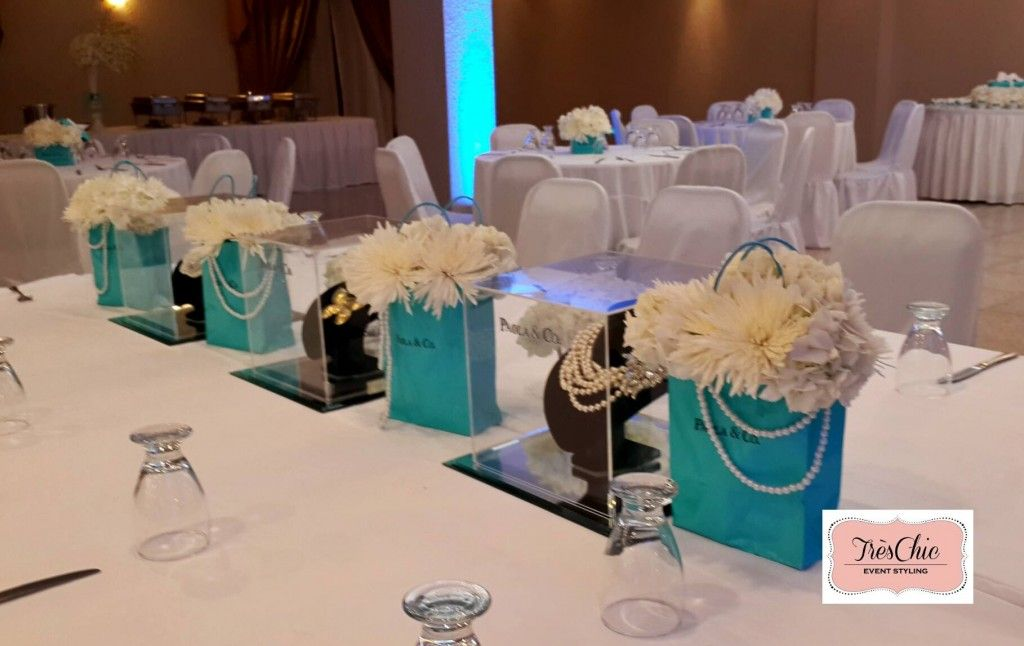 Tiffany & Co Inspired Party ~ Featured Party