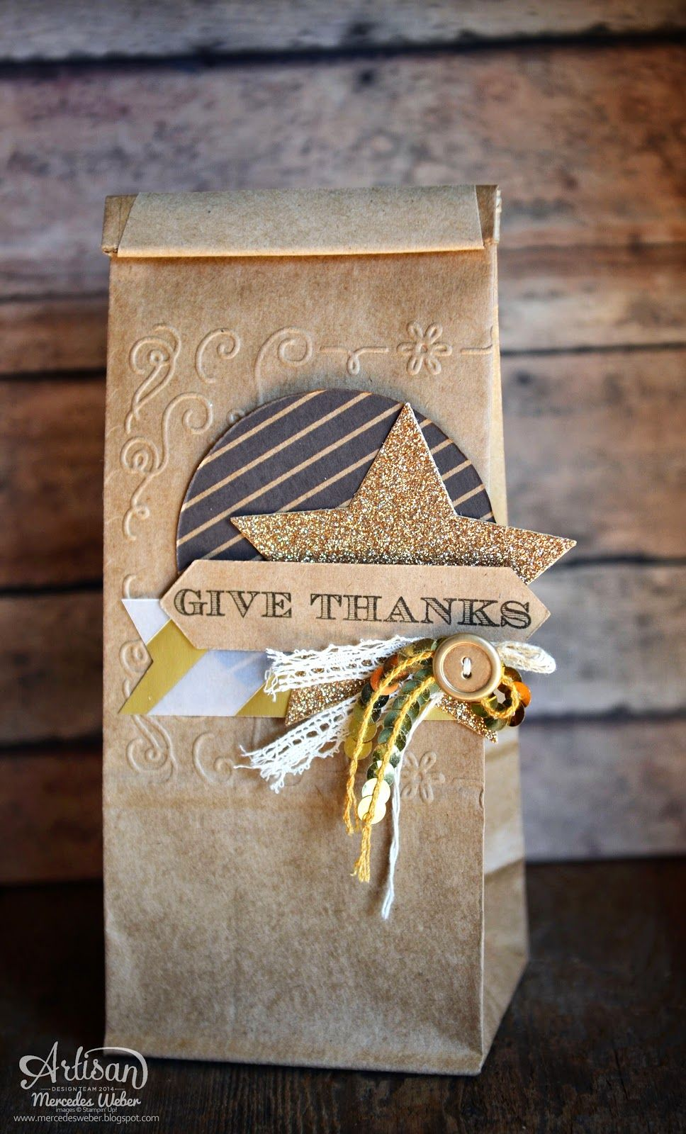 Stampin Up Artisan Blog Hop- Thanksgiving Edition   by Mercedes