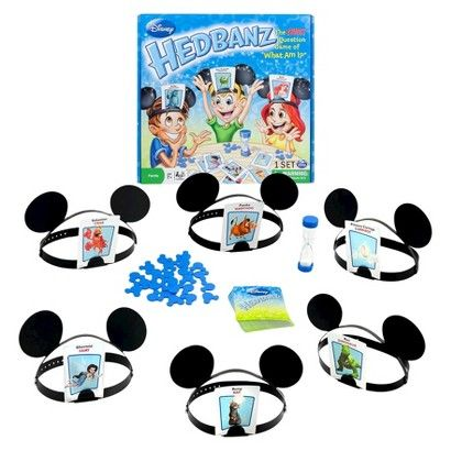Disney Kids Hedbanz 778988019689 Guess How Much Fun Youll Have
