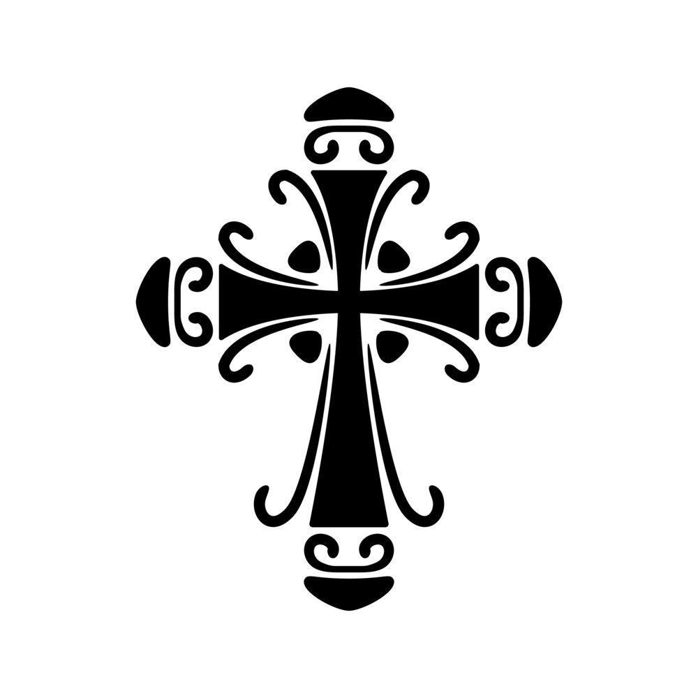 ornate cross stencil cricut pinterest pochoir broderie et celtic. Black Bedroom Furniture Sets. Home Design Ideas