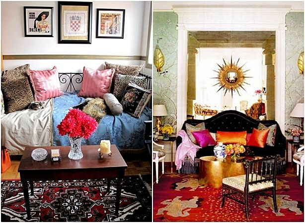 Bring Colorful Fantasy With Bohemian Home Decoration Style Home Decorating Ideas Kitchen Designs