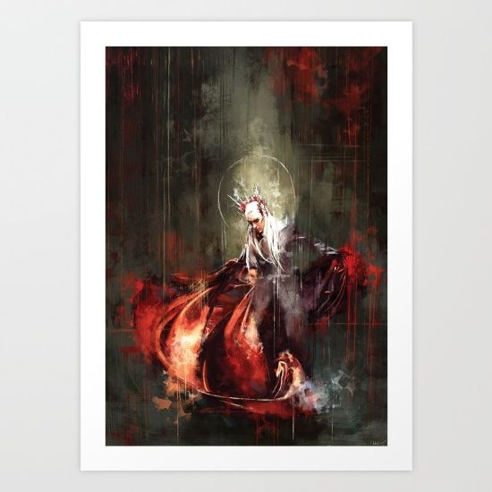 The+King+Art+Print+by+Wisesnail+-+$16.00 (With Images