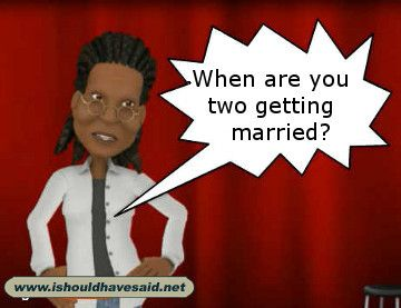 when are you getting married comebacks