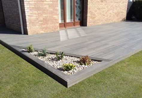 Aménagement jardin, modification terrasse, terrasse en bois arras - Pave Pour Terrasse Exterieur