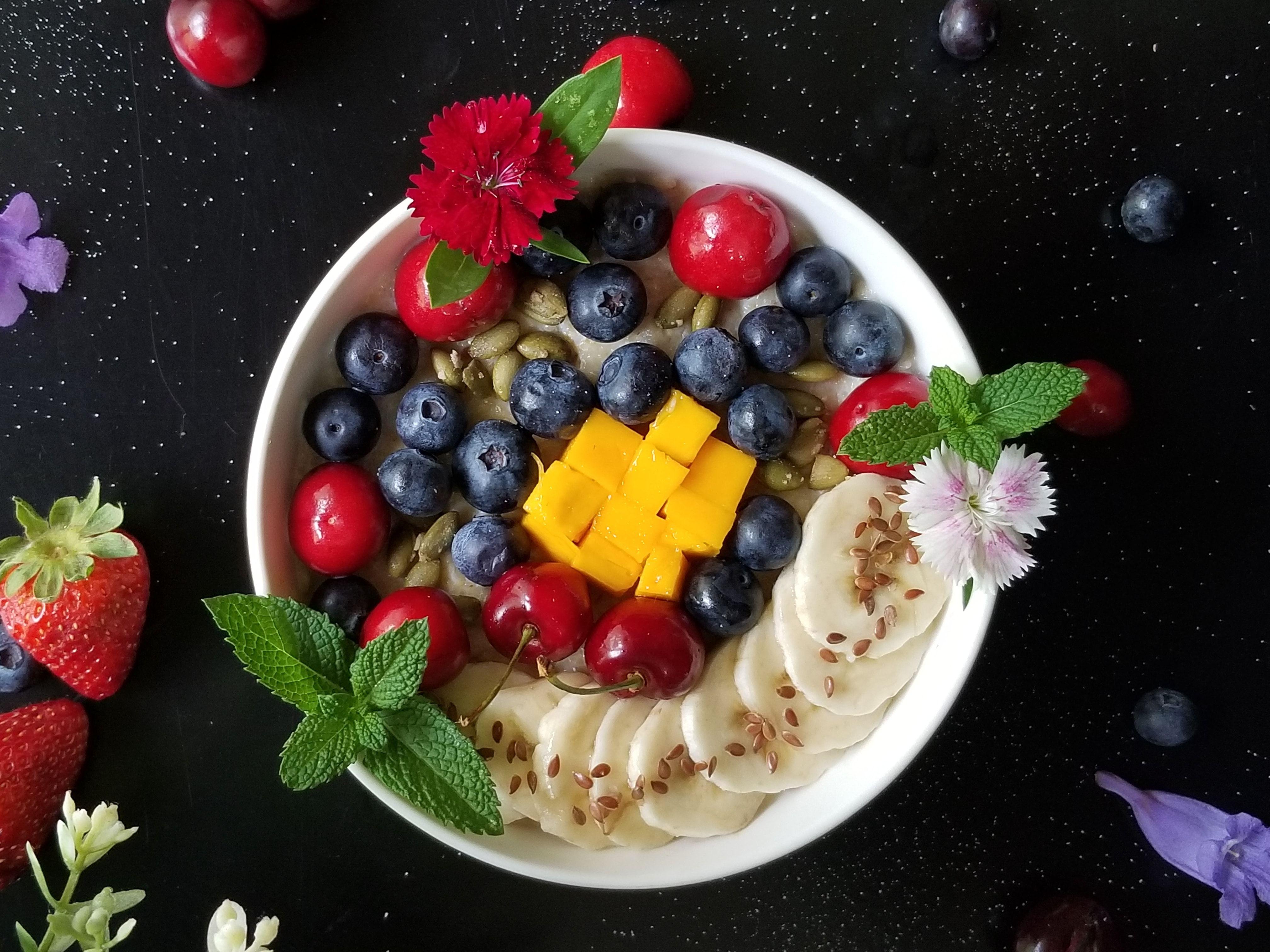 Porridge Berry Bowl