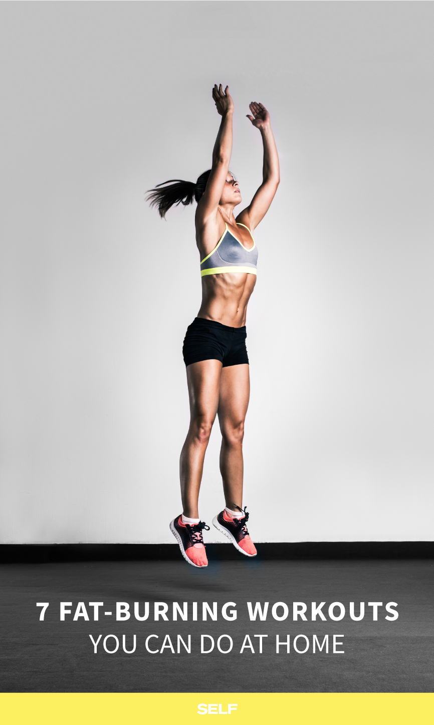 7 At-Home Cardio Workouts That Torch Fat | Cardio workouts, Cardio ...