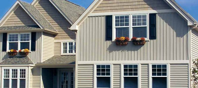 Board Batten Photo Jpg 665 297 Pixels Board And Batten Siding American Home Design House Siding