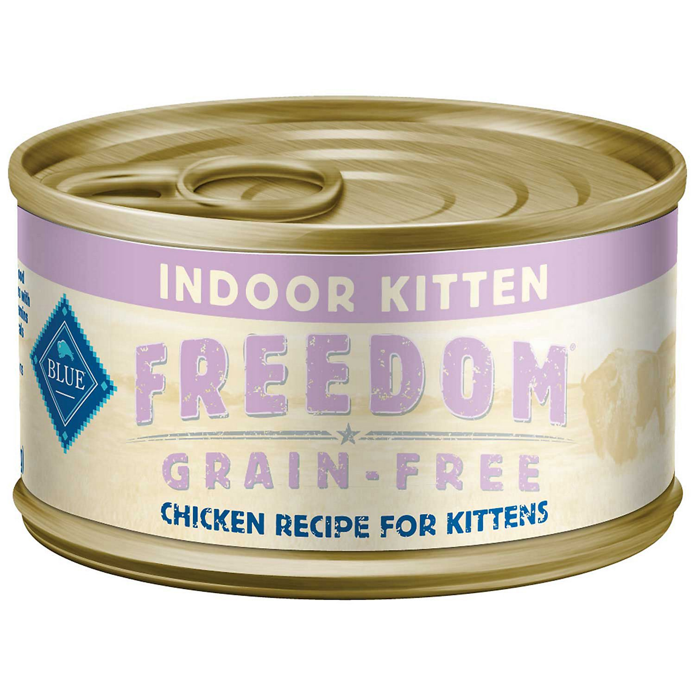 Blue Buffalo Blue Freedom Grain Free Indoor Kitten Chicken Recipe