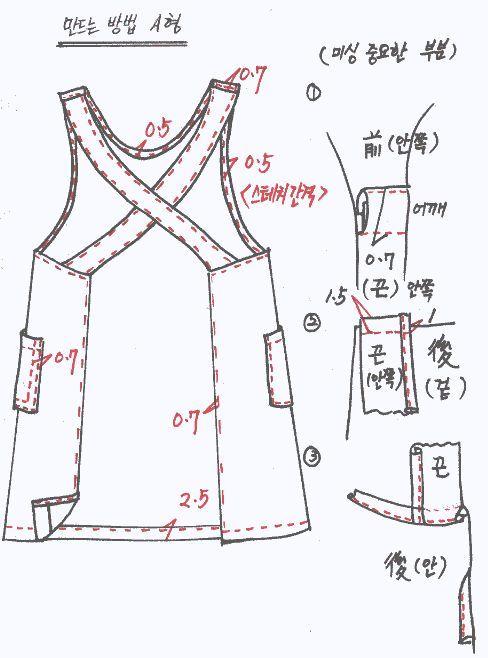 Garden pattern of clothes , a secret : Naver blog | patrones faciles ...