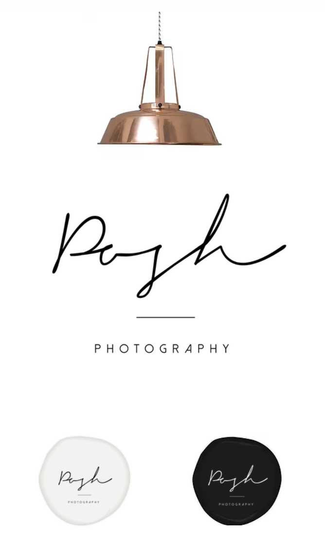 Photography logo design / Logo design / Name logo / Logo design