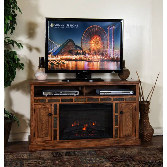 Sedona Fireplace TV Console Bernie And Phyls Fireplaces Impressive Sunny Designs Furniture Retailer