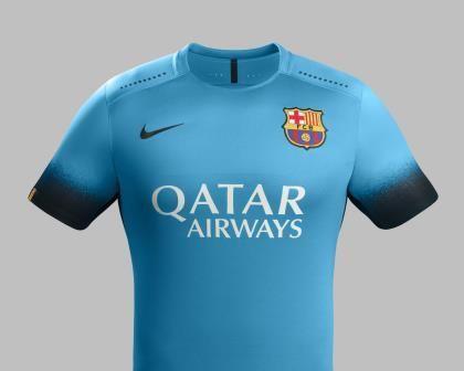 El FC Barcelona estrenará en Roma su nueva camiseta azul celeste ... 7395bf82ffb