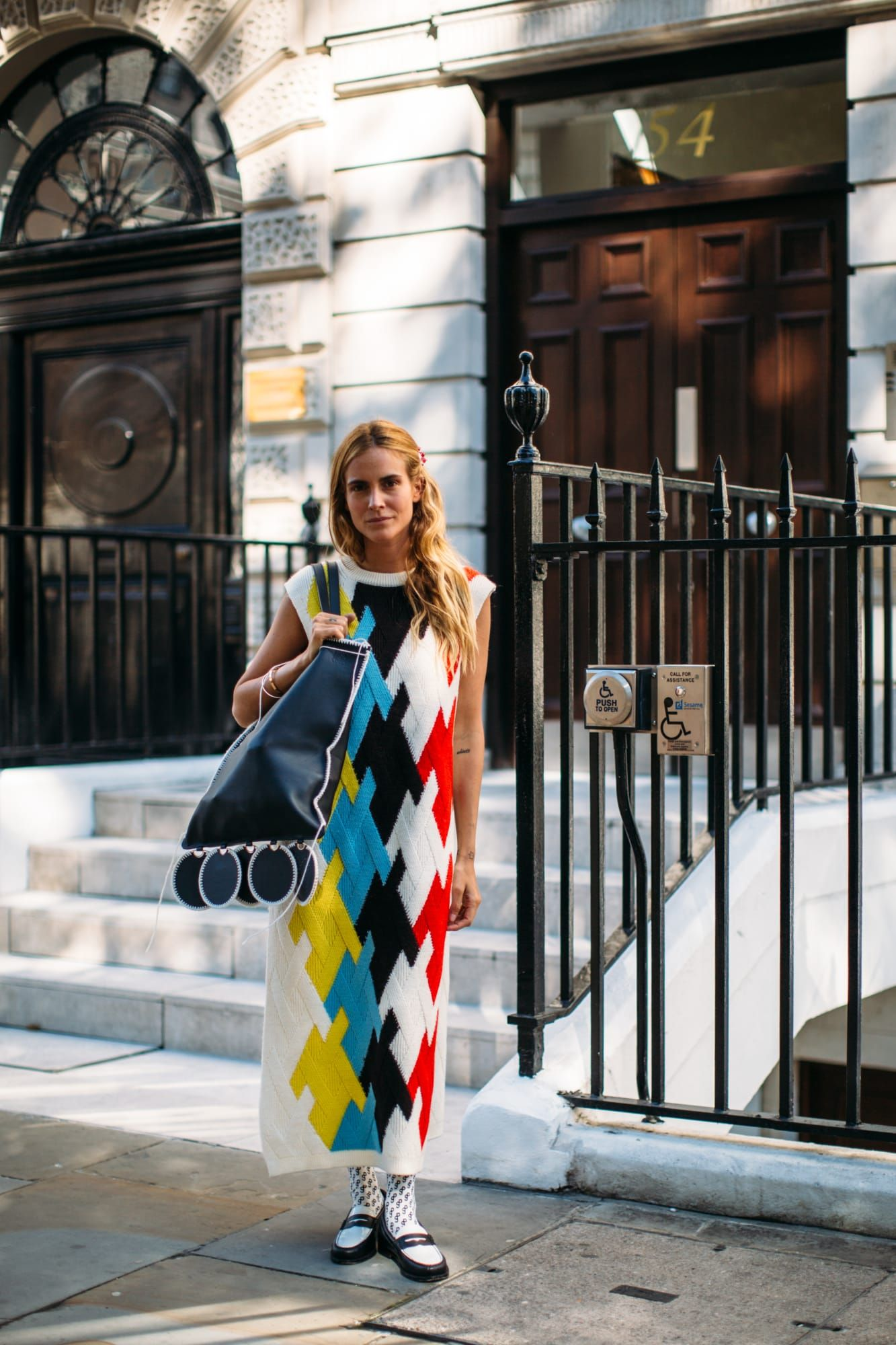 The Street Style Crowd Piled on Different Prints a