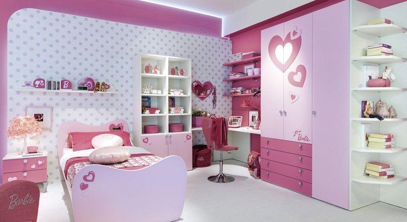 La cameretta di Barbie ™ Cameretta Barbie Sweet | Girls room in 2019 ...