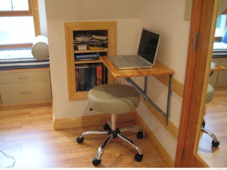 Fold Down Desk For Minimalist Live Breathtaking Fold Down Desk With Small Round Chairs And Japanese Small Bedroom Desk Desks For Small Spaces Small Room Desk