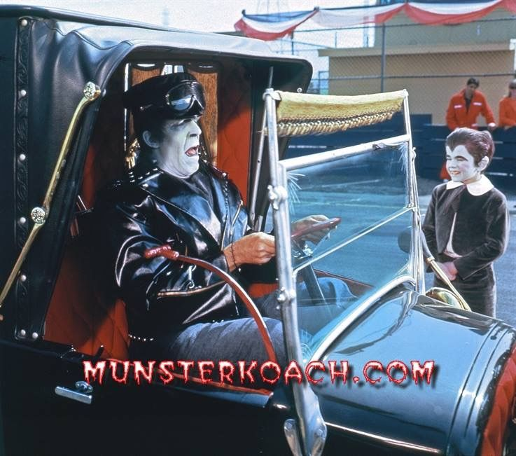 Pin by Barb Blash on The Munsters The munsters, Cars