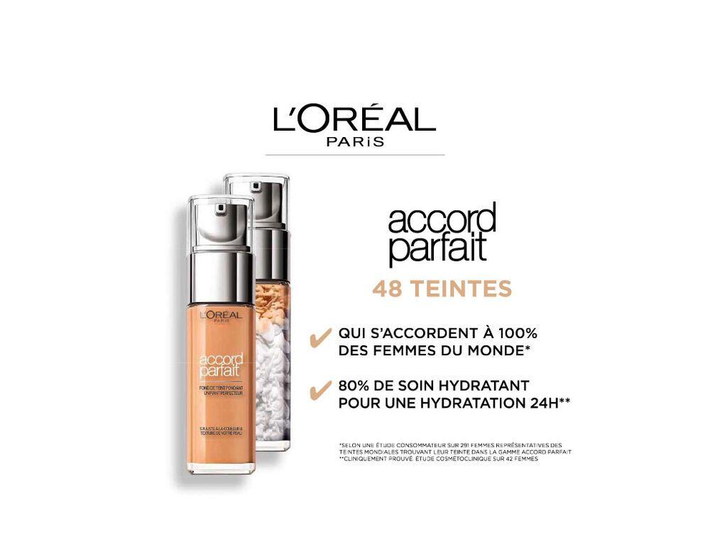 Accord Parfait Fluide Fond De Teint Maquillage L Oreal Paris Fond De Teint Maquillage L Oreal Produit De Maquillage