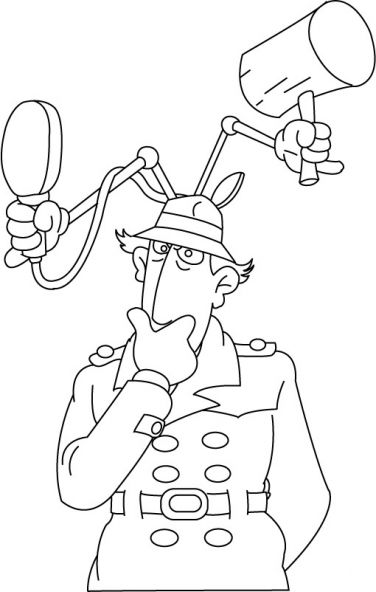 Inspecteur Gadget 9 Inspector Gadget Coloring Pages Coloring