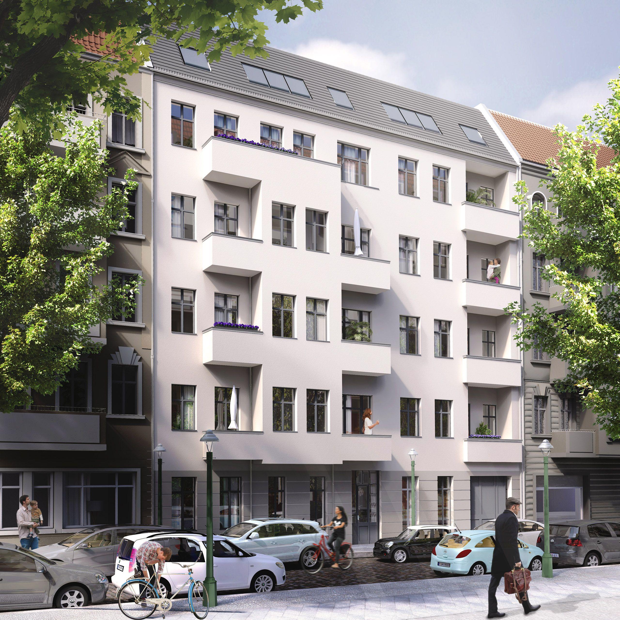 Architekturvisualisierung Berlin berlin neukölln refurbishment rooftop render manufaktur