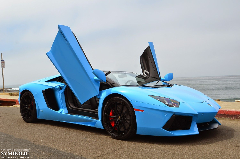Symbolic Motor Car Company Blu Cepheus Aventador Roadster Ravi
