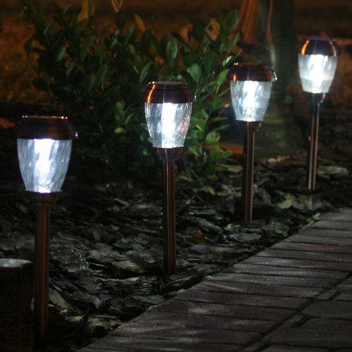 Solar Battery Powered Led Pathway Light Pack Solar Pathway Lights Outdoor Solar Lights Solar Landscape Lighting