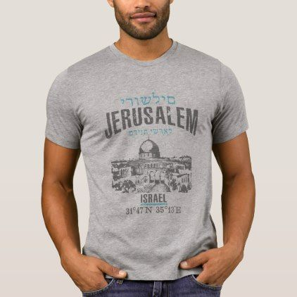 Jerusalem T Shirt   Diy Individual Customized Design Unique Ideas