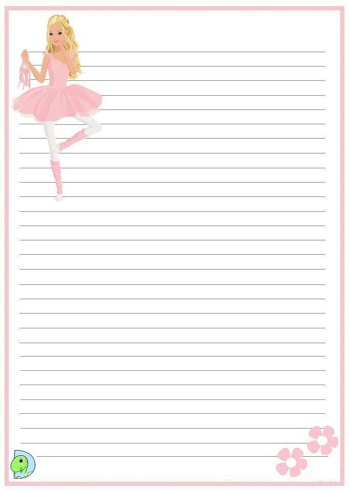 Barbie | new stationery | Pinterest | Hojas para escribir y Hoja