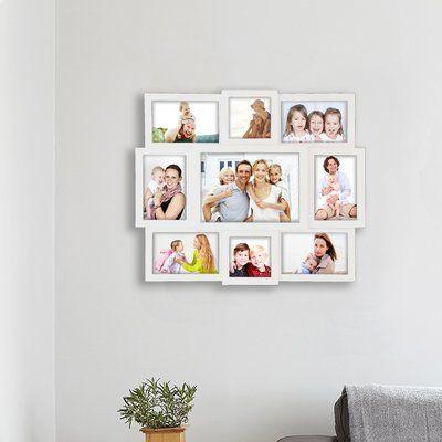 Winston Porter Neagle 9 Piece Picture Frame Set Colour White In