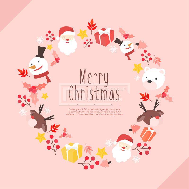 디자인 배경 크리스마스 러블리하 D151130da 다울 일러스트 일러스트 포토샵 이미지 Illustration Photoshop 배경 백그라운드 Background 계절 시즌 이벤트 팝업 겨울 크리스마스 신년 크리스마스 카드 크리스마스 예술 크리스마스