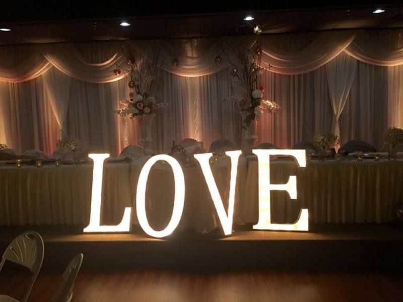 This Wedding Sign Sets The Theme For Elegant Reception