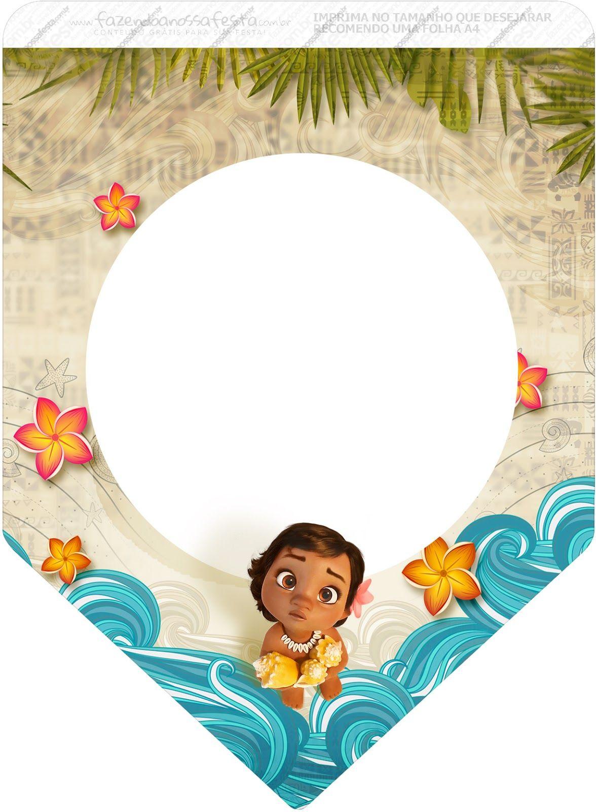 Moana Bebé: Imprimibles Gratis para Fiestas. | Moana | Pinterest | Moana, Moana party and Fiestas
