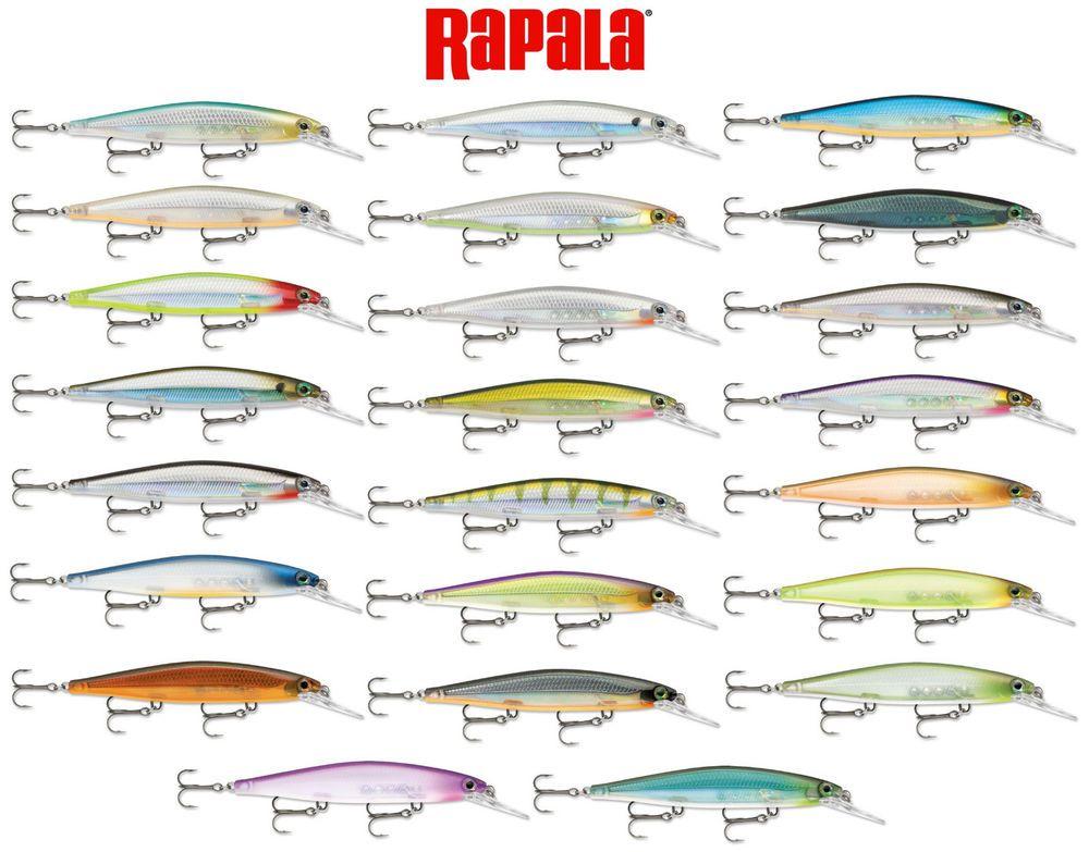 Rapala Shadow Rap Deep Bass Muskie Pike Fishing Lure Sdrd11 Rip Bait 4 3 8 Pike Fishing Lures Rapala Fishing Lures