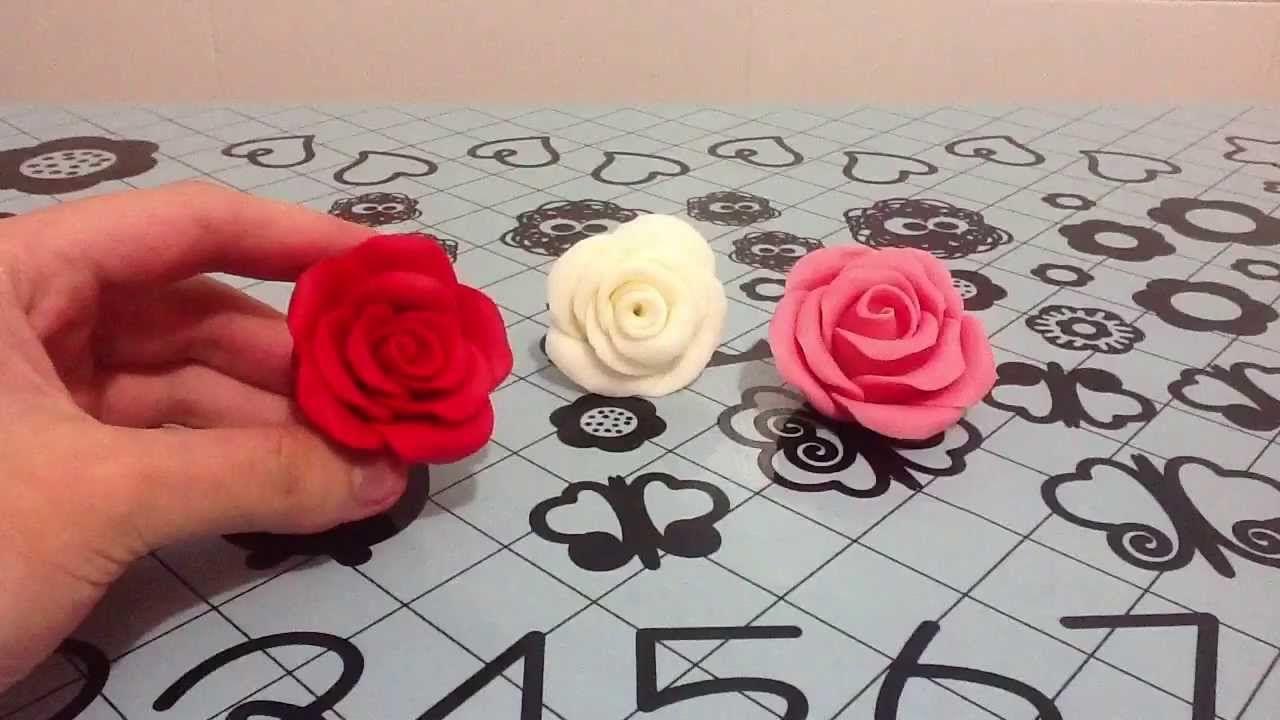 Como cada Viernes, os traigo un nuevo Vídeo! Hoy os enseño Cómo Hacer Rosas con Fondant, explicado paso por paso para que os salgan a la primera! Para más Re...