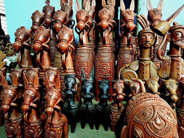 Image result for Art and Craft west bengal