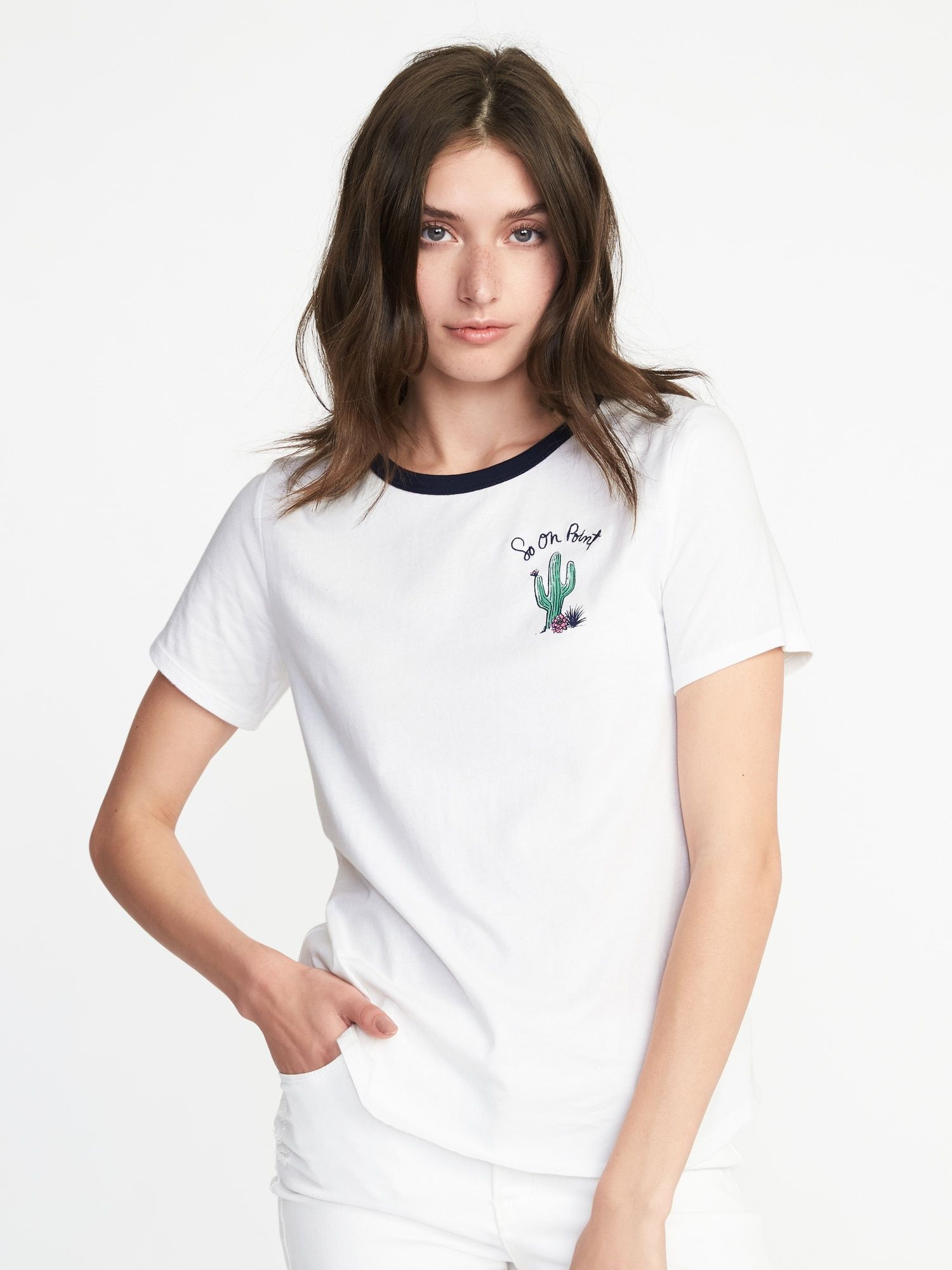 f198c7970cc49 So on point cactus graphic tee - old Navy