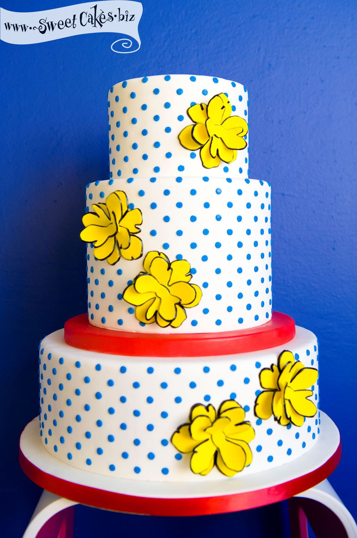 Pop Art Wedding Cake Great for my comic book loving friends