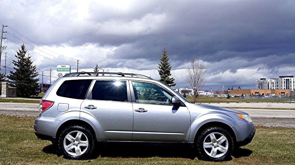 2010 SUBARU FORESTER LIMITED LEATHER SUNROOF