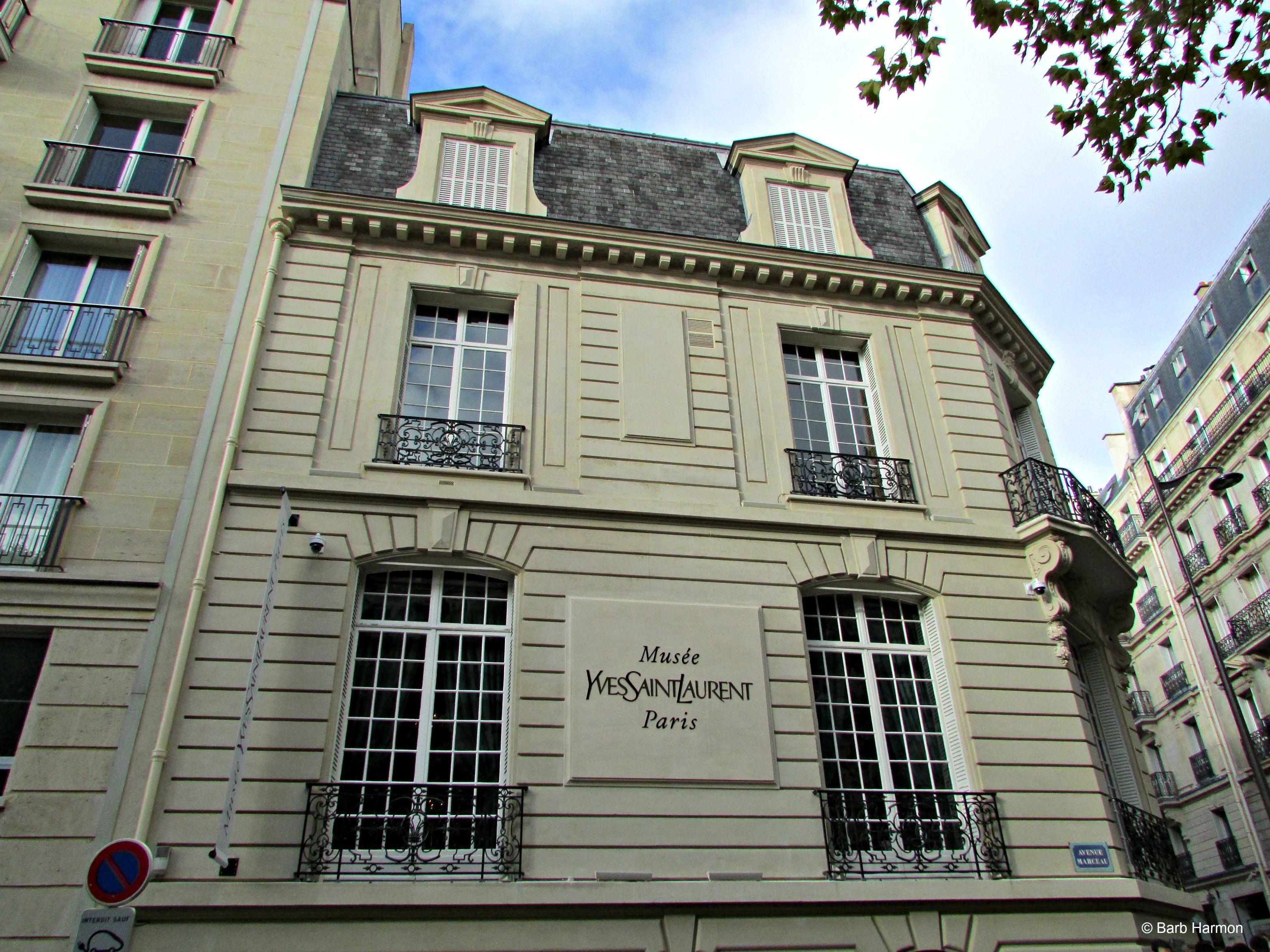 The gorgeous hôtel particulier where Yves Saint Laurent