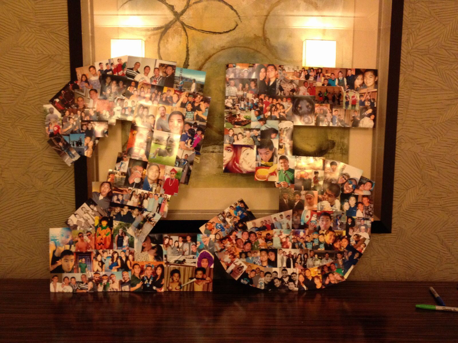 Perfect 16 Attractive 25th Birthday Ideas For Boyfriend Photos Illustrations A 25 Picture Collage For 25th Birthday Parties 25th Birthday Gifts 25th Birthday