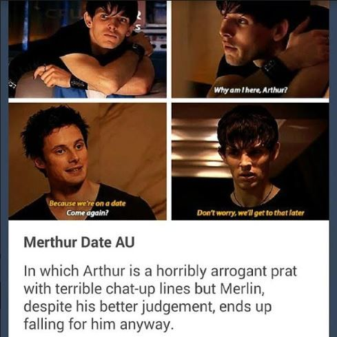 I don't think that's what Merlin was talking about, Arthur