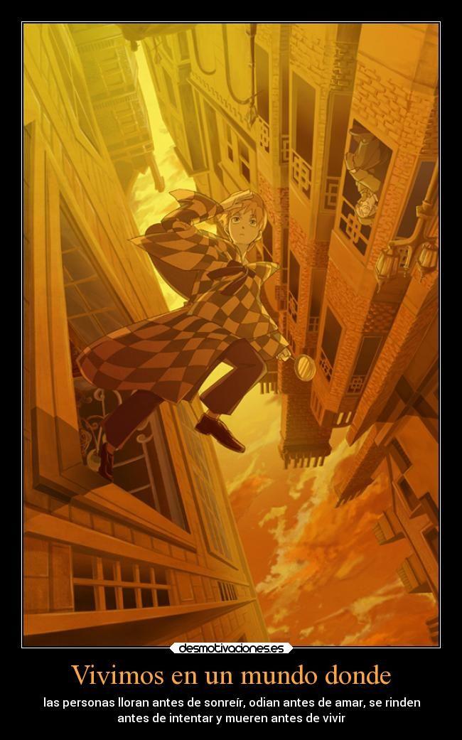 carteles mundo mundo anime sherlock holmes reves desmotivaciones