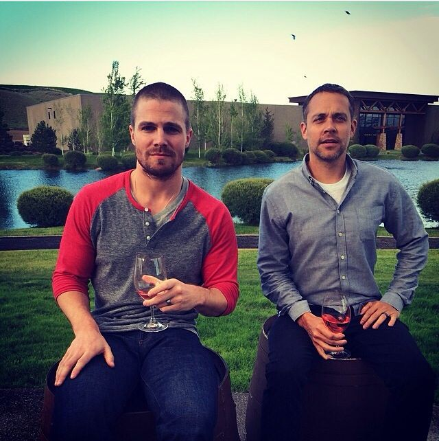 """""""Feels like vacation."""" -Stephen Amell"""