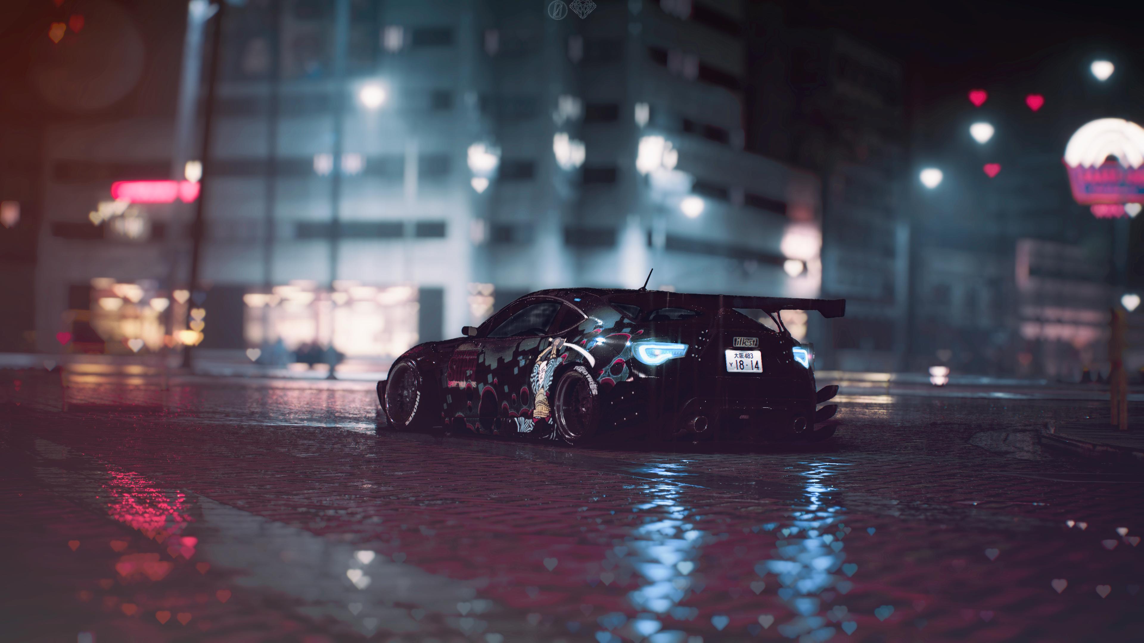 """Subaru BRZ """"Neon Samurai"""" [3840x2160] vol.1 (With images"""