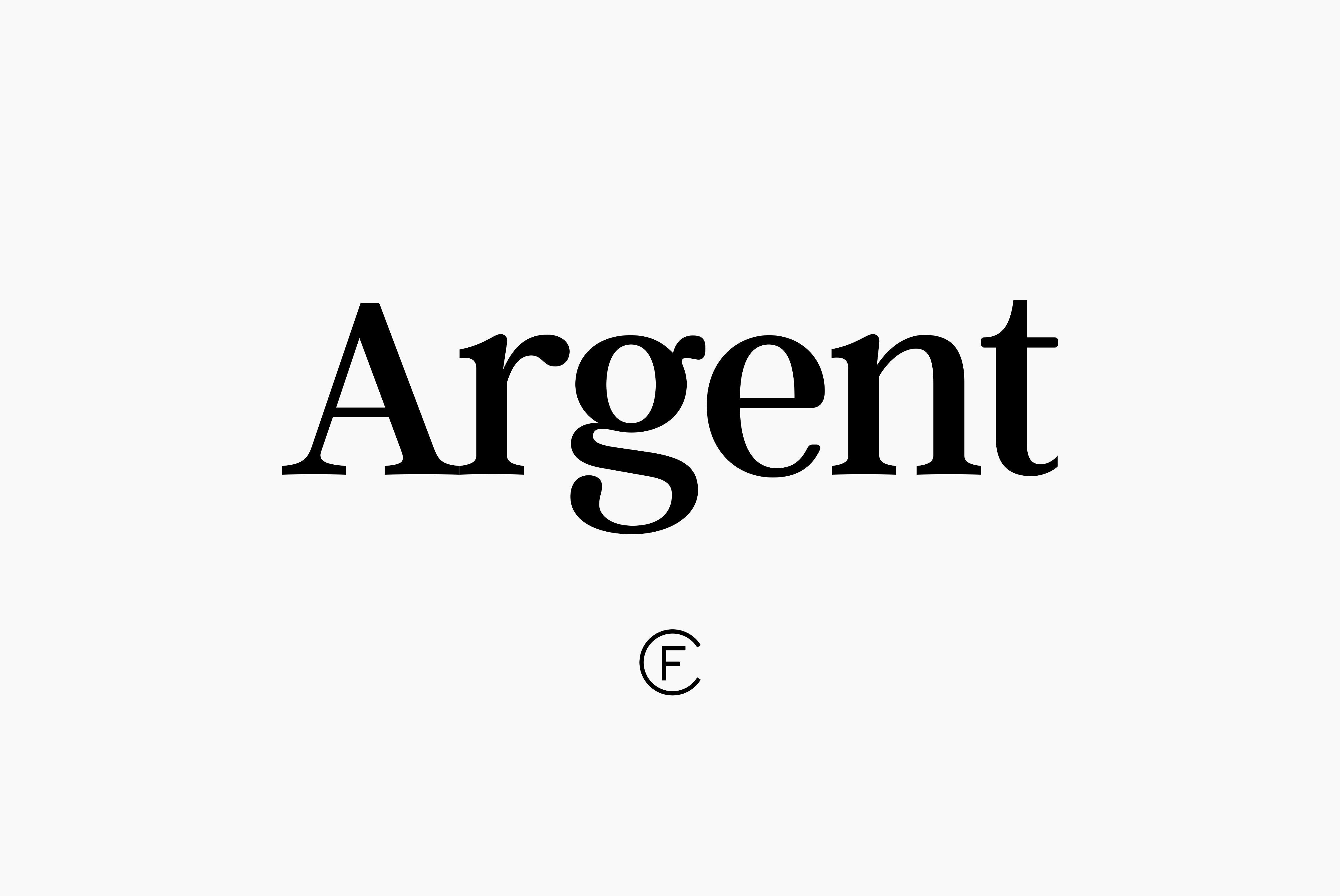 Argent CF Font / by Connary Fagen on Creative Market